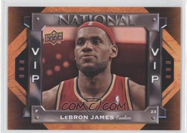 2009 Upper Deck National Convention - VIP #VIP-3 - Lebron James