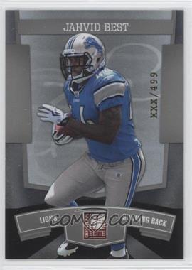2010 Donruss Elite National Convention - [Base] #9 - Jahvid Best /499