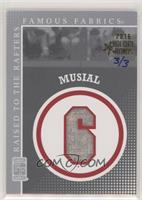 Stan Musial #/3
