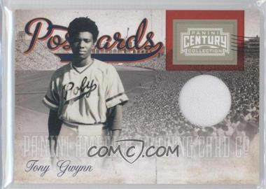 2010 Panini Century Collection - Postcards Materials #16 - Tony Gwynn /250