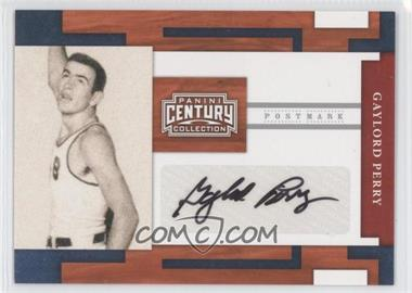 2010 Panini Century Collection - Postmark Signatures - Silver #71 - Gaylord Perry /250