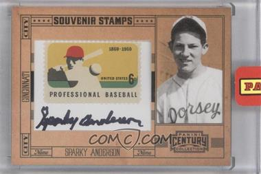 2010 Panini Century Collection - Souvenir Stamps Baseball - 6 Cent Professional Baseball 1869-1969 Stamp Signatures [Autographed] #58 - Sparky Anderson /25