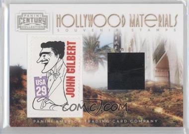 2010 Panini Century Collection - Souvenir Stamps Hollywood Materials #20 - John Gilbert /50