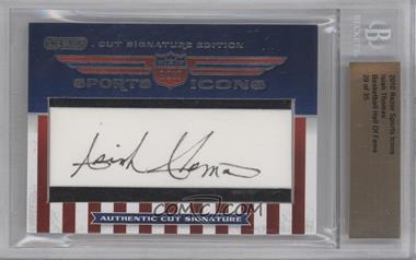 2010 Razor Sports Icons Cut Signature Edition - Authentic Cut Signature #ISTH - Isiah Thomas /35 [BGSAUTHENTIC]