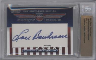 2010 Razor Sports Icons Cut Signature Edition - Authentic Cut Signature #LBSC - Lou Boudreau, Stan Coveleski /11 [BGS AUTHENTIC]