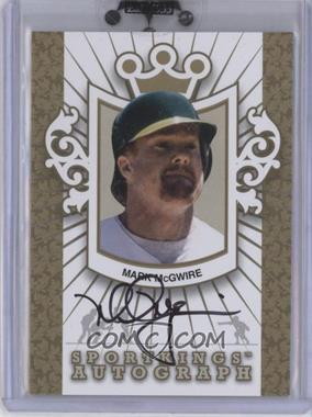 2010 Sportkings Series D - Autographs - Gold #A-MMC2 - Mark McGwire