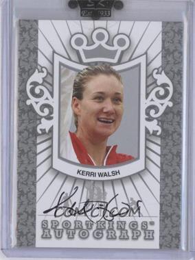 2010 Sportkings Series D - Autographs - Silver #A-KWA1 - Kerri Walsh