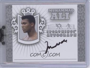 2010 Sportkings Series D - Autographs - Silver #A-MAL1 - Muhammad Ali