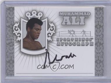 2010 Sportkings Series D - Autographs - Silver #A-MAL6 - Muhammad Ali /20