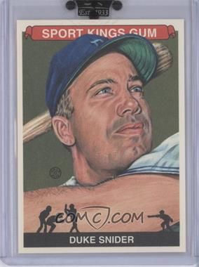 2010 Sportkings Series D - [Base] #162 - Duke Snider