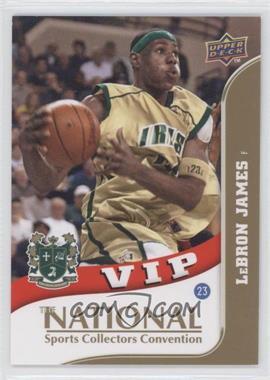 2010 Upper Deck The National - VIP #VIP-3 - Lebron James