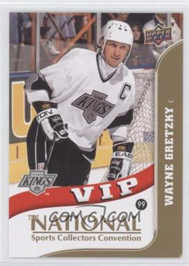 2010 Upper Deck The National - VIP #VIP-6 - Wayne Gretzky