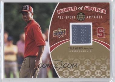 2010 Upper Deck World of Sports - All-Sport Apparel #ASA-17 - Tiger Woods