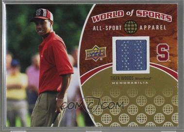 2010 Upper Deck World of Sports - All-Sport Apparel #ASA-17 - Tiger Woods