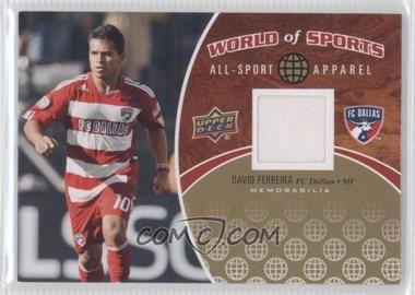 2010 Upper Deck World of Sports - All-Sport Apparel #ASA-31 - David Ferreira