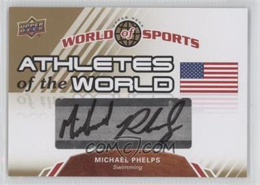 2010 Upper Deck World of Sports - Athletes of the World #AW-25 - Michael Phelps