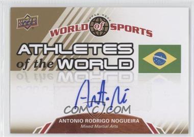 "2010 Upper Deck World of Sports - Athletes of the World #AW-53 - Antonio Rogerio ""Minotouro"" Nogueira"