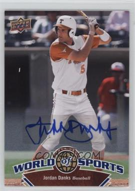 2010 Upper Deck World of Sports - [Base] - Autograph [Autographed] #157 - Jordan Danks