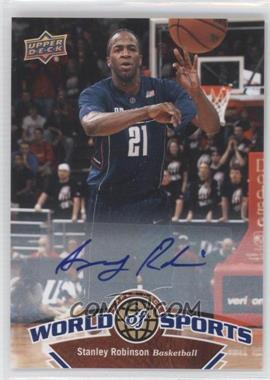 2010 Upper Deck World of Sports - [Base] - Autograph [Autographed] #28 - Stanley Robinson
