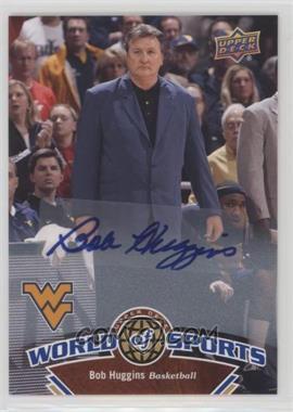 2010 Upper Deck World of Sports - [Base] - Autograph [Autographed] #369 - Bob Huggins