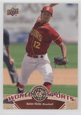 2010 Upper Deck World of Sports - [Base] #132 - Aaron Hicks