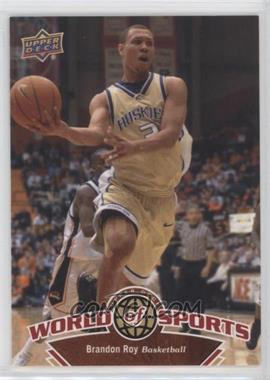 2010 Upper Deck World of Sports - [Base] #3 - Brandon Roy