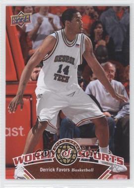2010 Upper Deck World of Sports - [Base] #333 - Derrick Favors