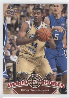 2010 Upper Deck World of Sports - [Base] #41 - Derrick Favors