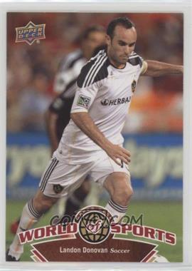 2010 Upper Deck World of Sports - [Base] #62 - Landon Donovan