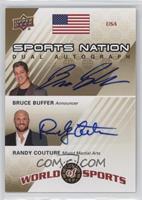 Bruce Buffer, Randy Couture /50