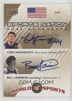 Luke Harangody, Bill Laimbeer /50