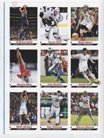 Anthony Davis, Tomas Hertl, Maya Moore, Simone Biles, Cam Newton, Gareth Bale, …