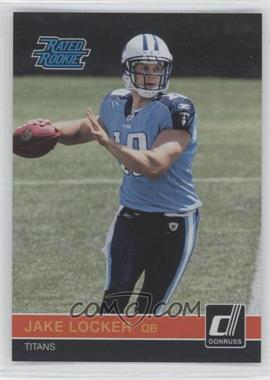 2011 Donruss National Convention - Rated Rookies #RR2 - Jake Locker