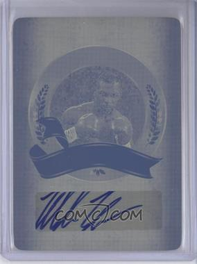 2011 Leaf Legends of Sport - Award Winners - Printing Plate Yellow #AW-16 - Mike Tyson /1