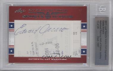 2011 Leaf Sports Icons Cut Signatures - [Base] #EDAR - Eddie Arcaro /29 [BGSAUTHENTIC]