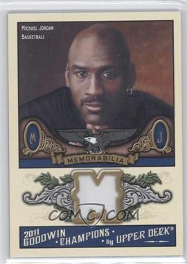 2011 Upper Deck Goodwin Champions - Authentic Memorabilia #M-MJ - Michael Jordan