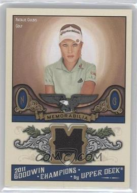 2011 Upper Deck Goodwin Champions - Authentic Memorabilia #M-NG - Natalie Gulbis