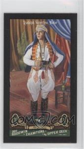 2011 Upper Deck Goodwin Champions - [Base] - Mini Red Lady Luck Back #123 - Rudolph Valentino
