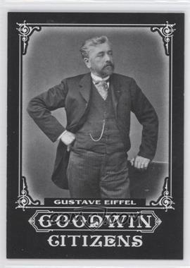 2011 Upper Deck Goodwin Champions - Goodwin Citizens #GC-11 - Gustave Eiffel
