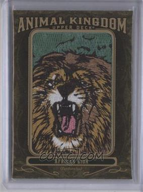 2011 Upper Deck Goodwin Champions - Multi-Year Issue Animal Kingdom Manufactured Patches #AK-75 - African Lion