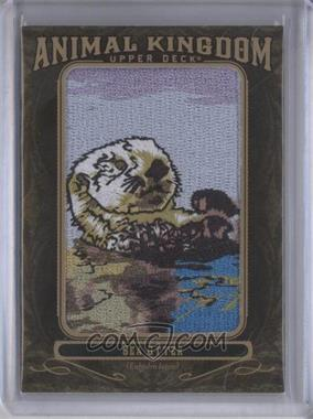 2011 Upper Deck Goodwin Champions - Multi-Year Issue Animal Kingdom Manufactured Patches #AK-79 - Sea Otter