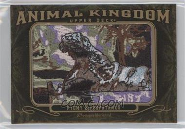 2011 Upper Deck Goodwin Champions - Multi-Year Issue Animal Kingdom Manufactured Patches #AK-83 - Pygmy Hippopotamus