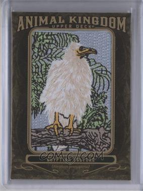 2011 Upper Deck Goodwin Champions - Multi-Year Issue Animal Kingdom Manufactured Patches #AK-89 - Egyptian Vulture