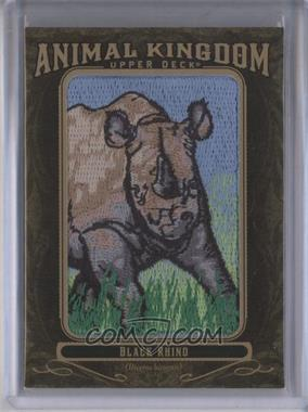 2011 Upper Deck Goodwin Champions - Multi-Year Issue Animal Kingdom Manufactured Patches #AK-92 - Black Rhino