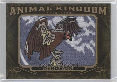 2011 Upper Deck Goodwin Champions - Multi-Year Issue Animal Kingdom Manufactured Patches #AK-93 - California Condor