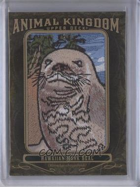 2011 Upper Deck Goodwin Champions - Multi-Year Issue Animal Kingdom Manufactured Patches #AK-94 - Hawaiian Monk Seal