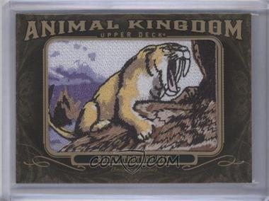 2011 Upper Deck Goodwin Champions - Multi-Year Issue Animal Kingdom Manufactured Patches #AK-98 - Saber-Toothed Cat