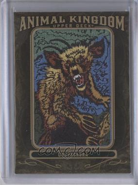 2011 Upper Deck Goodwin Champions - Multi-Year Issue Animal Kingdom Manufactured Patches #AK-99 - Chupacabra