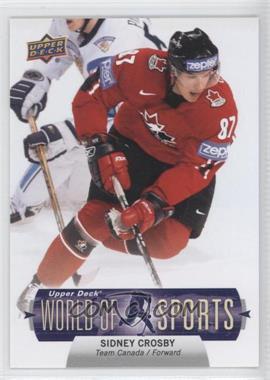 2011 Upper Deck World of Sports - [Base] #143 - Sidney Crosby