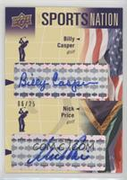 Billy Casper, Nick Price /25